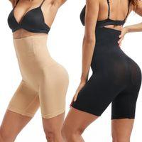 Bel Trainer Kadınlar Shapewear Karın Kontrol Külot Zayıflama İç Giyim Body Shaper Butt kaldırıcı Modelleme Kayış Yüksek Bel Kuşak T200302