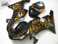 Kit di carenatura in plastica ABS di alta qualità per Kawasaki Ninja ZX6R 2005 2006 636 ZX-6R 05 06 ZX636 Aftermarket Bodywork carents parti