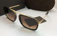 2020 Новый дизайн моды TF0453 UV400 защитных очков neutery роскошной итальянской пластины + металл моды полный комплект корпуса и коробков