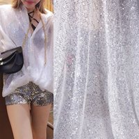 طيات الترتر التجاعيد ضوء الذهب الملابس اللباس النسيج نسيج اللباس اليدوية diy مرحلة خلفية القماش