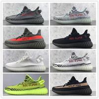sports shoes 6d360 b54de Nuevos llegados. 2018 ZY SPLY 350 V2 Aumentar Belgua Semi Congelado  Amarillo Zapatos Barato Kanye ...