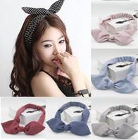 15st / mycket nyaste söt design damer hår tillbehör huvudband för kvinnor flicka båge hårhållare rep kvinnligt hår slips turban