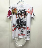 Bigbang G- Dragon Korean Style Printing Loose Graffiti Men&#0...