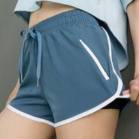 사이클링 반바지 Adisputent 여성 스포츠 여성 체육관 스포티 한 운동 섹시한 짧은 포켓 라이크라 숙녀