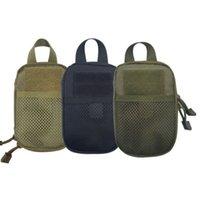 1000D Nylon Tactical Bag Handytasche Schlüsselminiwerkzeug-Beutel Außen Molle Taille Fanny-Pack Sporttasche