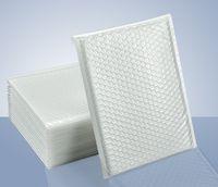 Diverse specifiche Matte White Bubble Film Envelope Bag Schiuma Express Delivery Packaging busta posta Protezione Bag