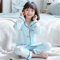 Infantil 가디건 아기 여자 옷 만화 잠옷 긴 소매 잠옷 세트 키즈 여자 Pijama 어린이 잠옷 잠옷