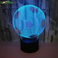 Lâmpada Haoxin LED 3D 7 Cores interruptor de toque Tabela Desk Luz Lava Lamp Acrílico Illusion Quarto Ambiente Iluminação Jogo Fãs presente todas as peles