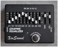 10 + 2 الفرقة المعادل EQ تأثيرات الغيتار الدواسة XinSound EQ-99 بواسطة المعادل الرسم اليدوي