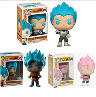 Wholesale Kids funny toys Funko Pop Dragon Ball Z Super Saiy...