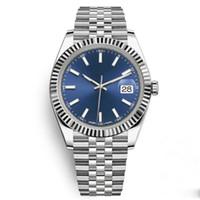2019 reloj de las mujeres de 36 mm de acero inoxidable sólido movimiento de cierre automático 2813 del reloj mecánico para hombre Relojes grande