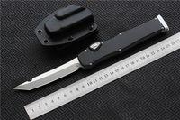 """Alta Qualidade MIKER facas CNC Faca (4.5 """"Cetim) único D2 Lâmina Da Liga de Alumínio Lidar Com faca Faca de Sobrevivência da engrenagem facas EDC ferramentas"""