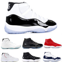 2018 Concord 11s Mens Basketball Shoes 72-10 11 berretto e abito Black White Space Jam Gym Red Sneakers donna Legend Blue Sports Trainers