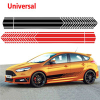 Universal Sports Racing Stripe Graphic Stickers Truck Auto C...