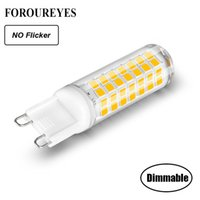 Dimmable G9 Led Lamp No Flicker Ac220v 110v 5. 5w Led Light B...