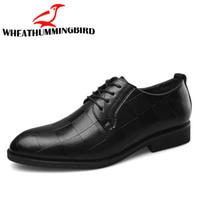 블랙 브라운 낮은 탑 남성 공식 사무실 신발 남성 드레스 신발 큰 / 플러스 크기 38-47 남자 비즈니스 웨딩 플랫 옥스포드 신발 LK-45