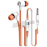 50pcs 10 Farben Ursprüngliche Langsdom Wired Kopfhörer in Ear-Headset mit Mikrofon Sport Musik Earbuds Headset tws