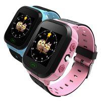 Y21 GPS Дети Смарт Часы Анти-потерянный фонарик Детские Смарт Наручные часы SOS вызова Местоположение Устройство Tracker Kid Safe против Q528 Q750 Q100 DZ09 U8