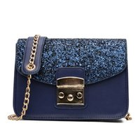 Fashion Women Sequined Messenger Bag Quality Leather Women F.. 06e466a113cce