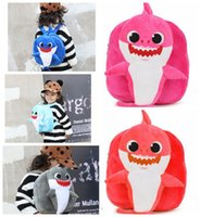 Baby Shark Plush Backpack School Bag Girl Boy Kids Children ...