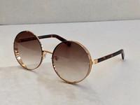 LILO / S 로즈 골드 / 브라운 음영 라운드 선글라스 gafas 상자와 드 졸 드 ciclismo 여성 선글라스 새로운