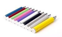 Bateria eletrônica 650mah 900mah 1100mah da torção do ego C do cigarro da bateria da visão 1100mah tensão variável 3.3V-4.8V para 510 Ego ce4 mt3 h2