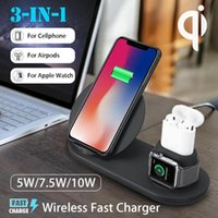 3 in 1 qi wireless charger apple watch charger accessories w...