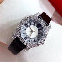 Top Mode Frauen Kleid Uhren Luxus Diamanten Japan Bewegung Weibliche Quarz Uhr Diamanten Berühmte Dame Armbanduhr Dropshipping