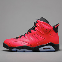 Top Jumpman 6 6s Baby Kids Basketball Shoes Carmine Green Su...