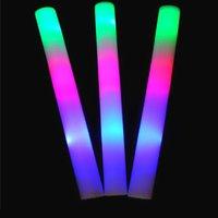 Concert Onze Groothandel Custom Make Electronic LED Kleurrijke Lichtschuim Sponge Stick Onze Silver Bar