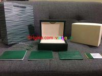 Atualização papéis versão de caixa de madeira 116610 126334 caixas de presente caixa mens relógios caixas de madeira assistir homens relógio de pulso assistir CAIXAS