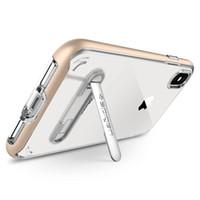 SGP Spigen Kristall Hybrid mit Magnet Stents entfernbar für iphone 11 pro max xr x / xs max 7/8 plus 6 / 6S zuzüglich Samsung s20 note10 mit Verpackungs