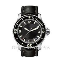 Luminosa CINCUENTA FATHOMS reloj de 50 brazas japonesa Miyota 8215 mecánico automático para hombre relojes relojes deportivos de alta calidad, Montre de luxe
