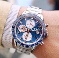 Top Brand Chronographe VK Quartz Mens Montre De Bonne Qualité 43mm Sport Sport Scier Montres Bracelet
