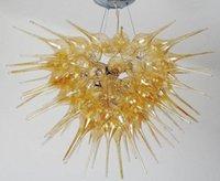 الأعلى تصميم الإضاءة لاعبا اساسيا أسلوب الفن الحديث ديكور العنبر في مهب سقف واضح زجاج الثريات الحديثة مصابيح التركية