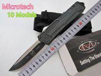 Özel Fırsat! 10 Stiller Microtech troodon Scarab S / E En İyi Otomatik Bıçak Marfione Özel troodon Halo v A07 Hediye Bıçak UT Bıçaklar Bıçaklar