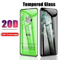 20D Curved Full Cover Protective Glass On the For iPhone 6 7...