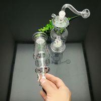 Europäischen und amerikanischen beliebten farbig gepunkteten Vase Glas Zigarette Wasserkocher Großhandel Glas Wasserpfeifen Tabak Zubehör Glas Ash Catcher