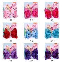 5 « » JOJO Mignon clips Noeud dans les cheveux pour les filles bébé cheveux Bows Enfants JOJO Siwa Barrette Bébés Accessoires cheveux strass Mode Chapeaux Enfants