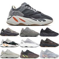 Reflectante 700 Kanye West para hombre zapatos de diseño azul del trullo sólidos Zapatos Gris Negro Utilidad Vanta Runing Hombres Mujeres estático B75571 las zapatillas de deporte