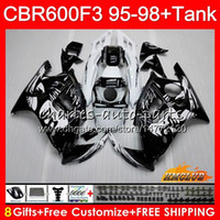 Body + Tank For HONDA CBR 600F3 600CC CBR600 F3 95 96 97 98 4...