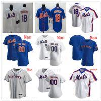 Custom 2020 Baseball 20 Pete Alonso Jerseys 34 Noah Syndergaard 0 Marcus Stroman 1 Amed Rosario Rick Porcello Tom Seaver Mens Bambini Donne