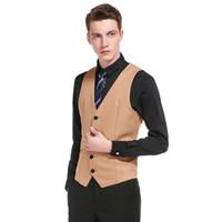 2019 Robe de mariée de haute qualité en coton de costume de conception de mode pour hommes en costume d'affaires / gris noir haut de gamme, costume décontracté d'affaires pour homme