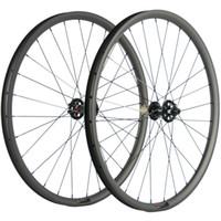 جبل الكربون العجلات 27.5ER 25MM 30mm وعمق العرض MTB عجلات Novatec محور 791-792 6 الترباس مركز AXLE THRU / QR