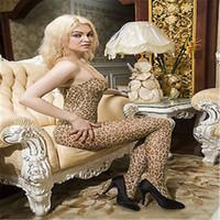 ليوبارد طباعة Bodystocking المنشعب فتح حار جنسي الملابس الداخلية جنسي ساخن جنس المرأة مثير الجسم الجورب الملابس الداخلية ارتداءها واحد الحجم