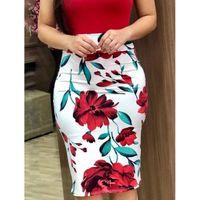 새로운 여자 여름 캐주얼 짧은 소매 꽃 Bodycon 비치 sundress에 미니 드레스 파티 Clubwear 섹시한 슬림 스키니 드레스