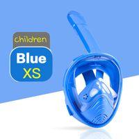 Детская полностью сухая дыхательная трубка противотуманная маска для дайвинга Детское зеркало для подводного плавания пищевое оборудование из силикагеля 4-12 лет