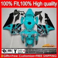 Enjeksiyon% 100 Fit For HONDA camgöbeği siyah yeni CBR600RR CBR600F5 CBR600 RR 2005 80HC.311 CBR 600 RR 600RR 600F5 F5 05 2006 05 06 OEM Fairing kiti