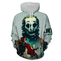 New Plus Size Sweatshirt Cashual Hoody Mode Männer Frauen 3D Printed Joker Pullover mit Kapuze Mantel Fremder ThingsTops
