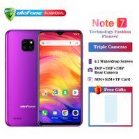 "2019 NOVO Ulefone Nota 7 Smartphone 3500mAh 19: 9 Quad Core 6.1 ""Tela Android Waterdrop 1GB RAM 16GB ROM WCDMA Celular"